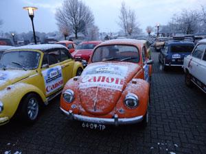 Teambuilding Bedrijfsuitje Rally in Holten voor CANON